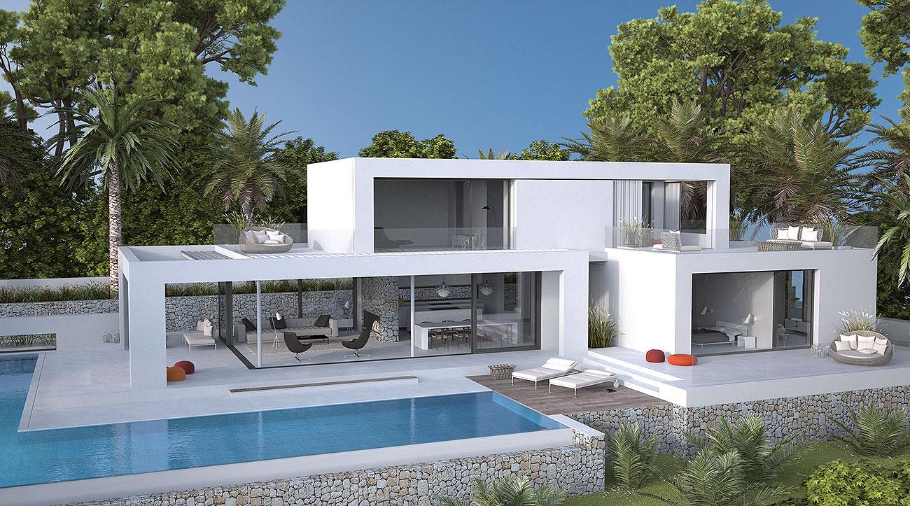 Mediterrane Architektur seasites ecklusive mediterrane architektur seasites